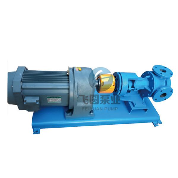 内齿轮泵KLF100泵样机